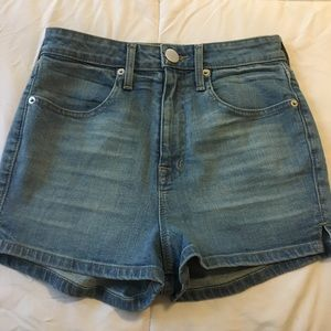 BDG super high rise pin up shorts